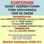 istanbul konfurans
