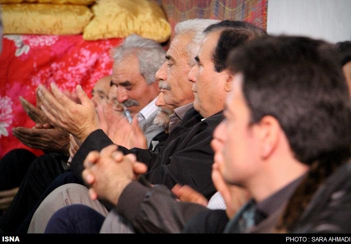 چیلله گئجهسی در روستای علی کندی اورمیه