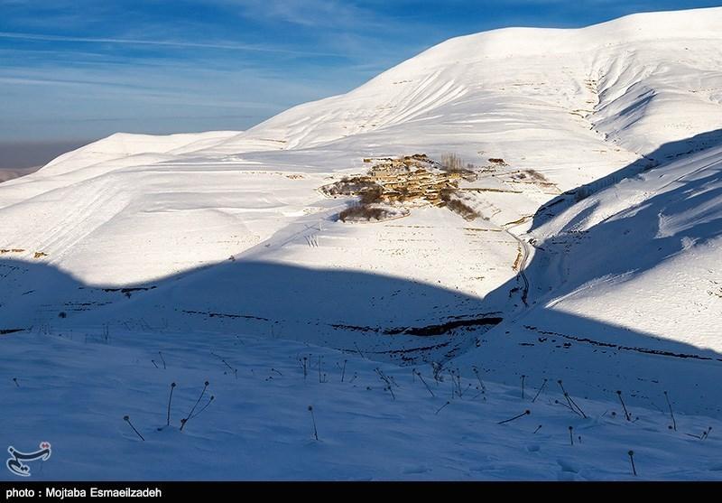طبیعت برفی اورمیه