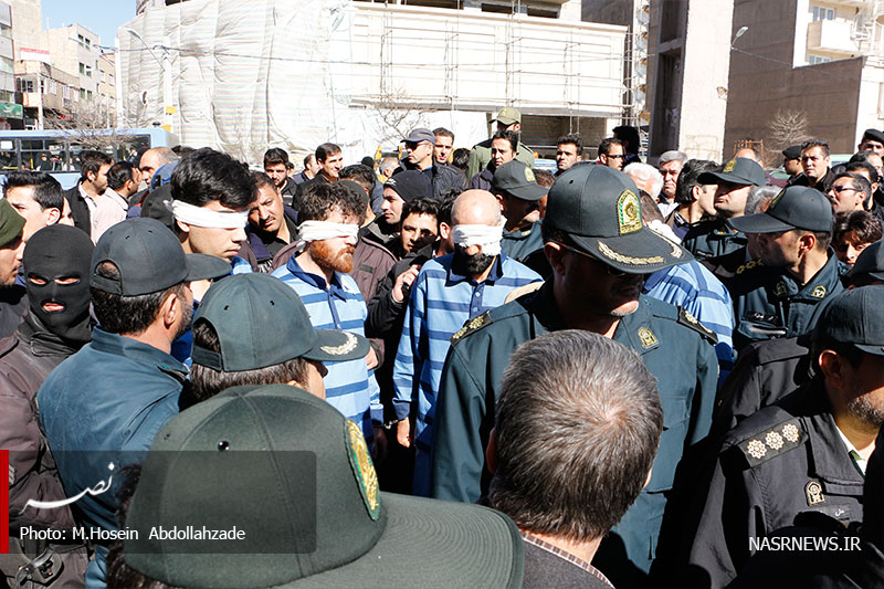 گرداندن اراذل و اوباش در خیابانهای تبریز