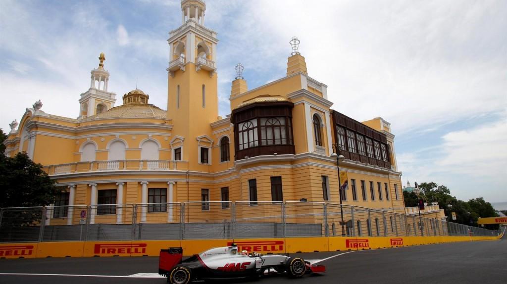 مسابقات اتومبیل رانی فرمول ۱ در آذربایجان